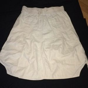 LINEN/COTTON SKIRT LANE BRYANT 20